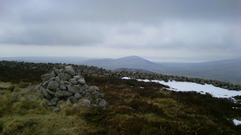 The summit of Slievenaglogh