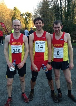 the top 3 at slieve martin