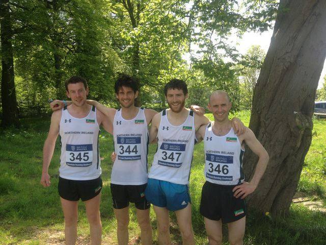 The team - Seamus, Allan, Iain and David (Left to Right)