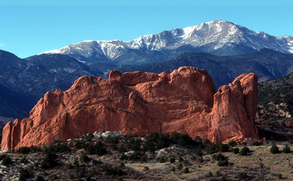 Pikes Peak Looms Large