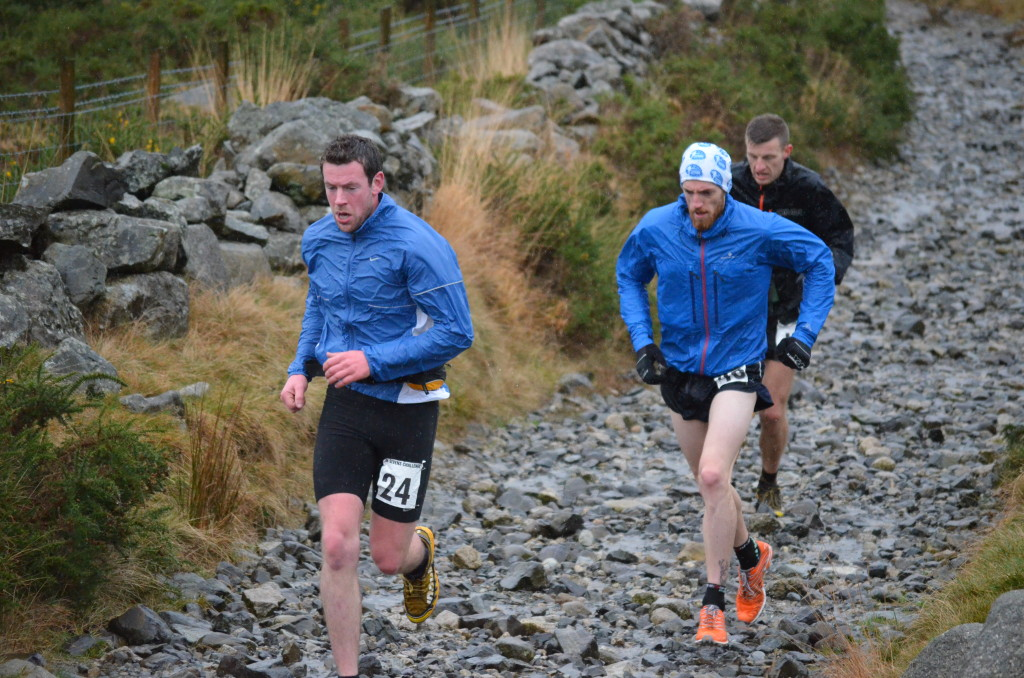 Seamus, Eoin and Jonny in hot pursuit