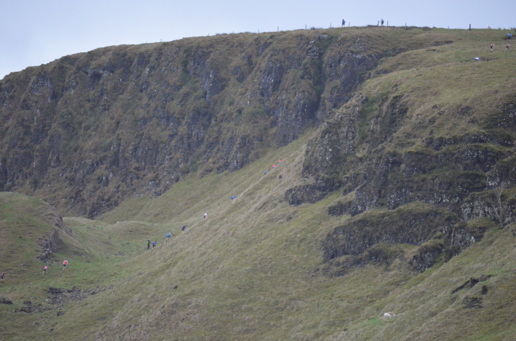 The first climb of Knockdhu